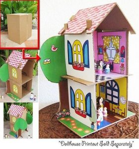 carboard house