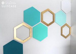 cardboard wall art