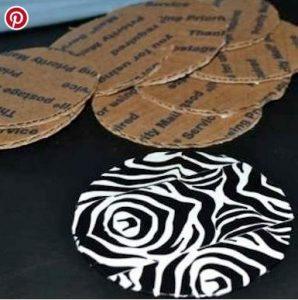 cardboard coasters