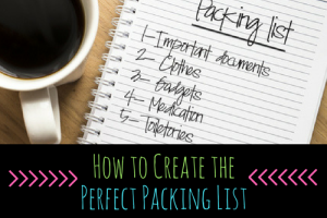 packing list title