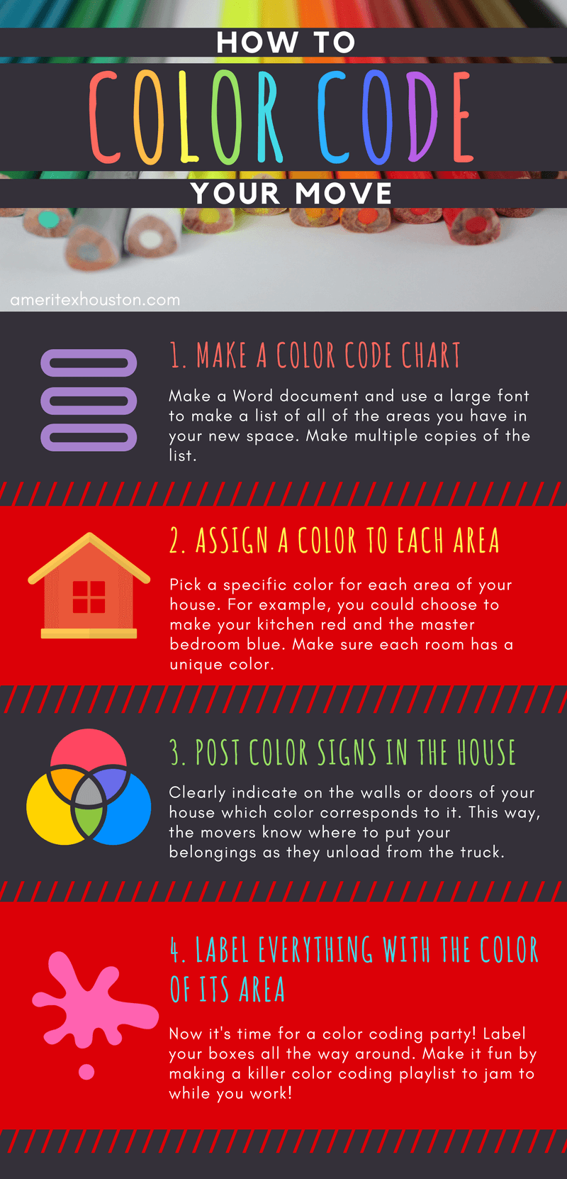 how to color code your move