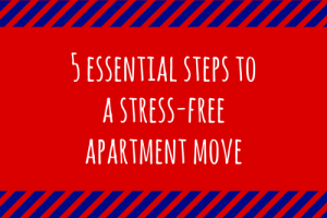 apartment moving stress-free