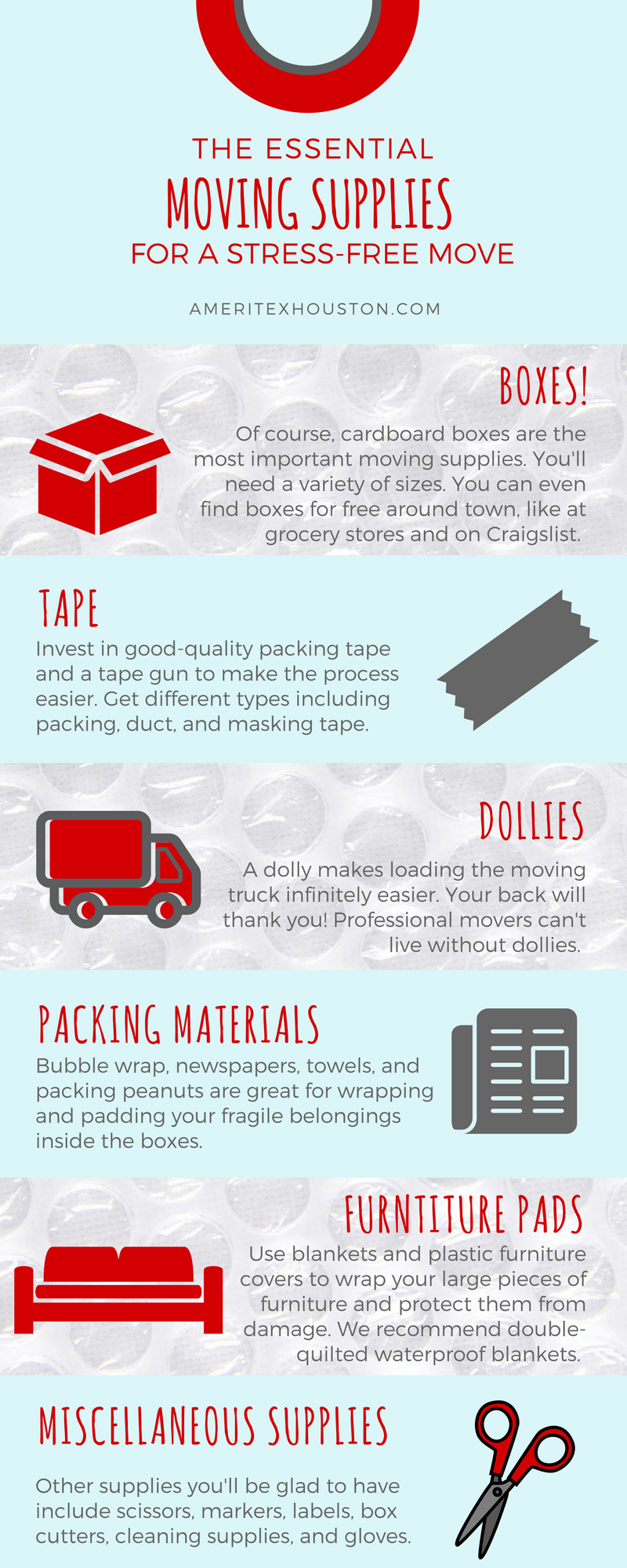moving supplies infographic