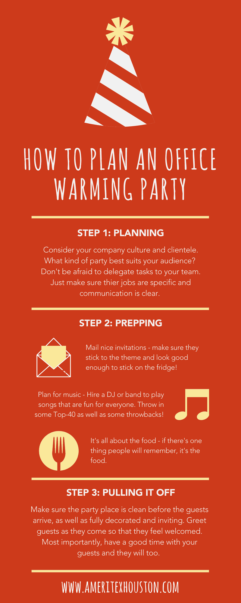 How to Plan an Unforgettable Office Warming Party Ameritex Movers