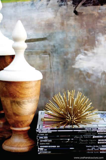 diy decor starburst urchin