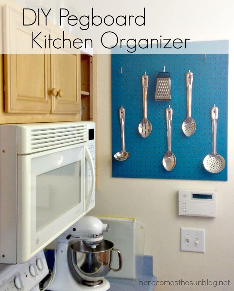 Pegboard-Kitchen-Organizer