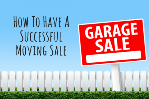How To Have A Successful Moving Sale