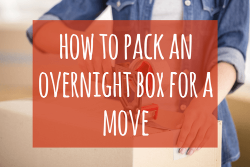 how to pack an overnight box