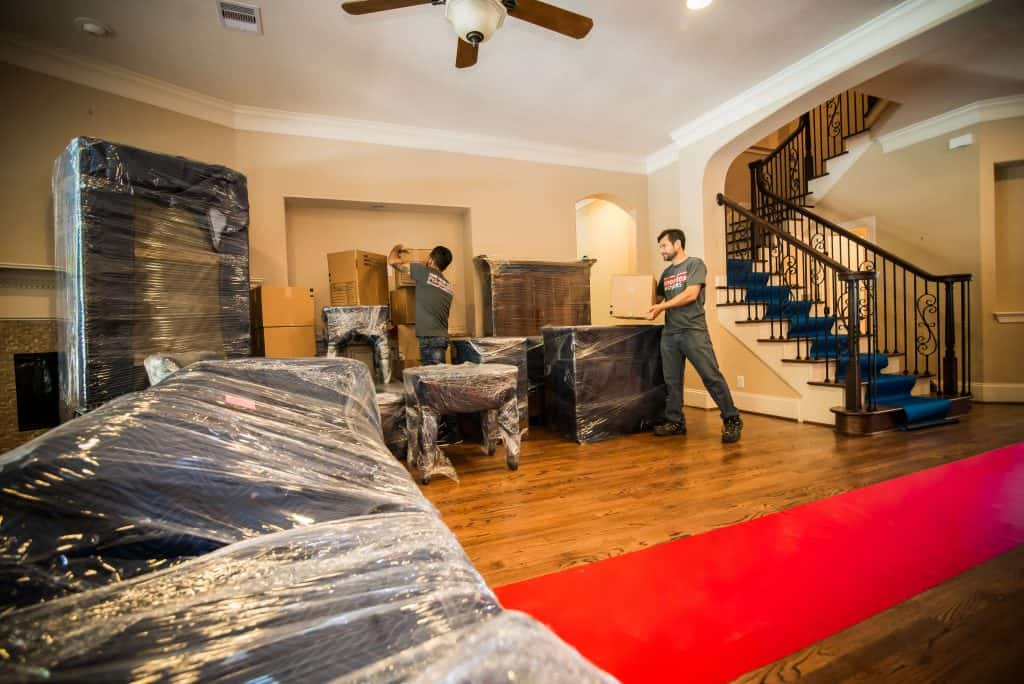 home move in houston with ameritex team of home movers