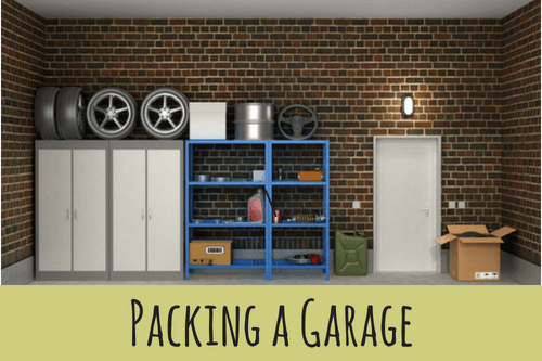 how to pack a garage-organized garage