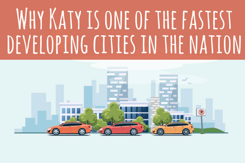 katy population growth graphic - why katy is one of the fastest developing cities