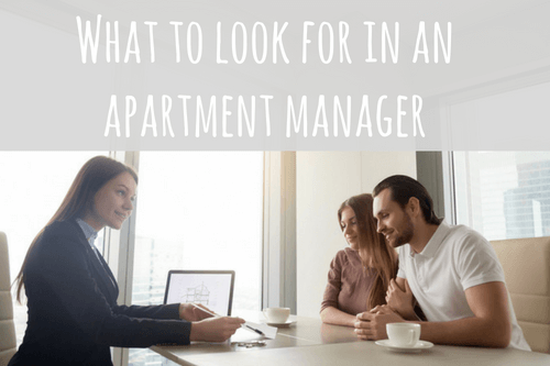 apartment manager couple apartment hunting