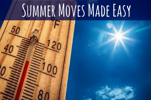 summer move image: thermometer