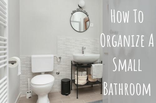 how to organize a small bathroom-bathroom