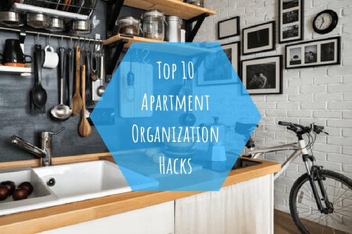 ten apartment organization hacks