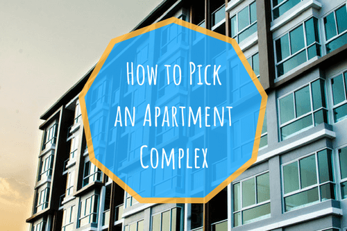 how to pick an apartment complex houston