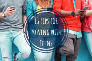 tips for moving with teens